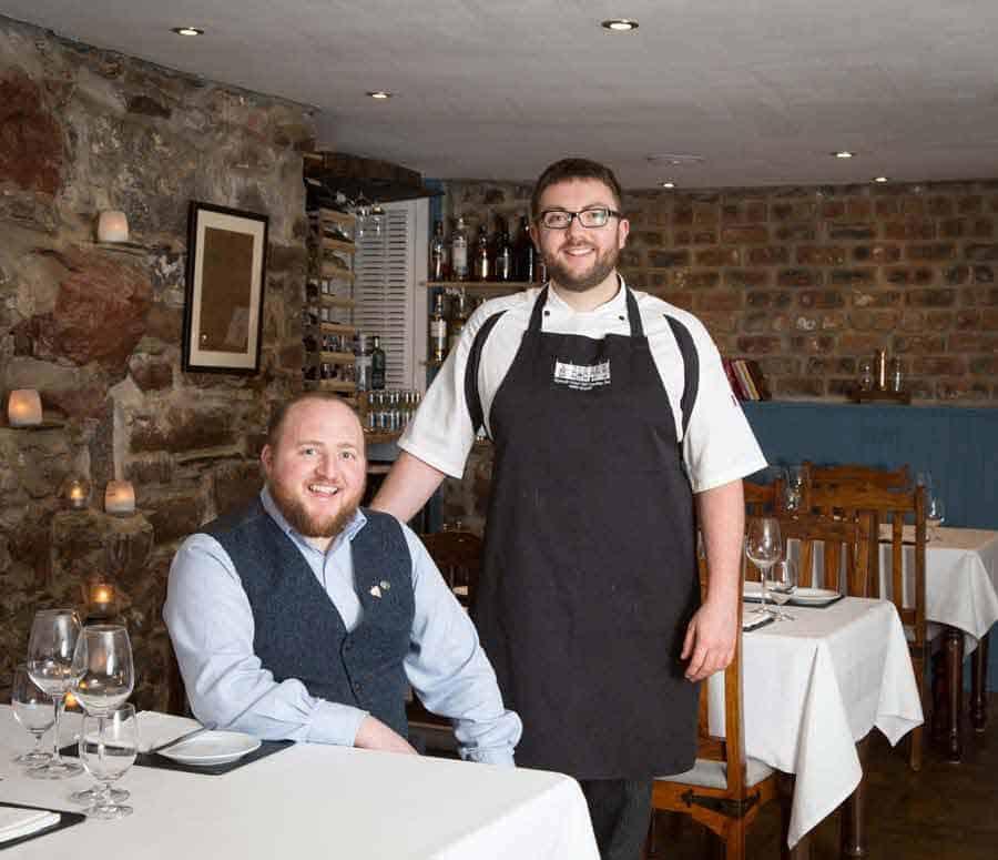 Patron Chef John and Owner David