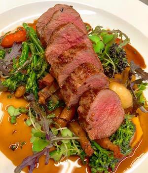 Loin of Perthshire roe deer Taynuilt Hotel restaurant