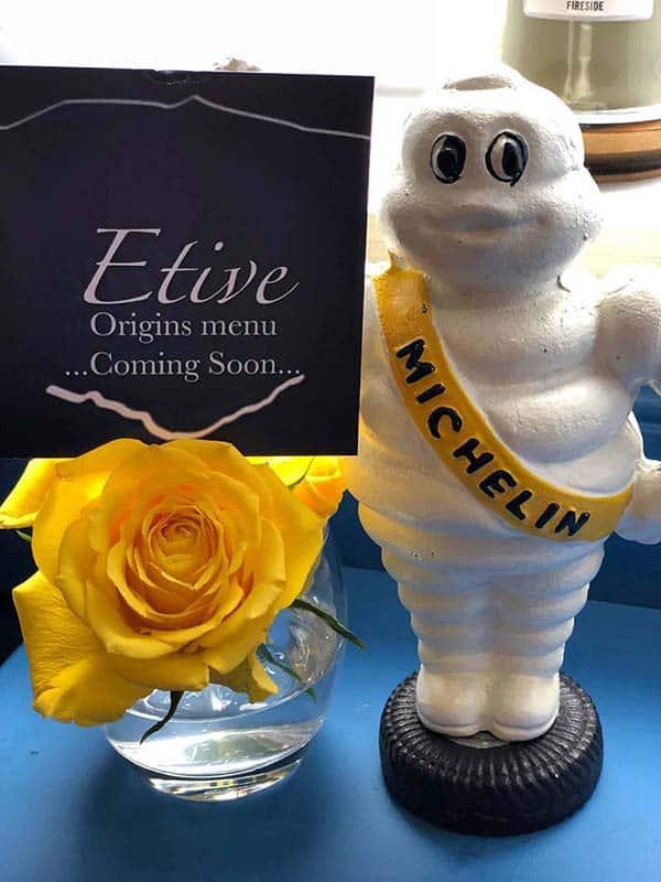 Etive Restaurant Oban, Michelin Restaurant